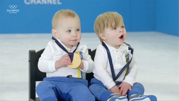 Babies Compete in the Olympic Games