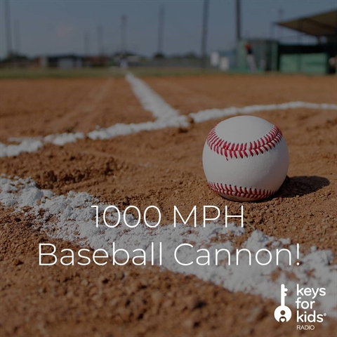 1000 MPH Baseball Cannon!