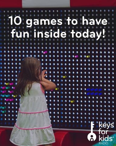 10 Indoor Game Ideas for Kids
