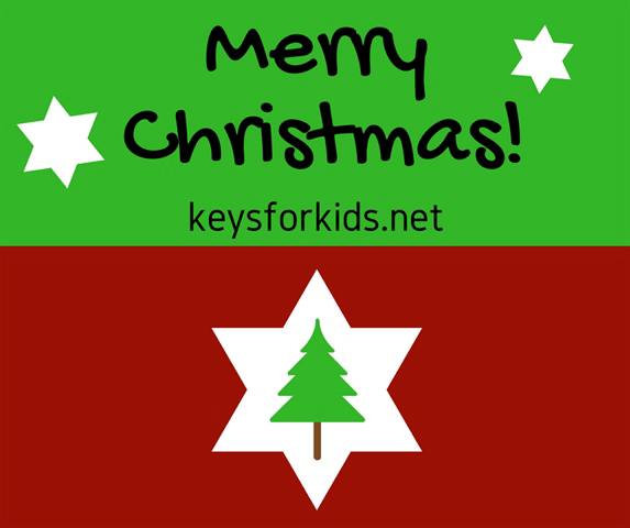 Welcome to Keys for Kids Radio's Countdown to Christmas!