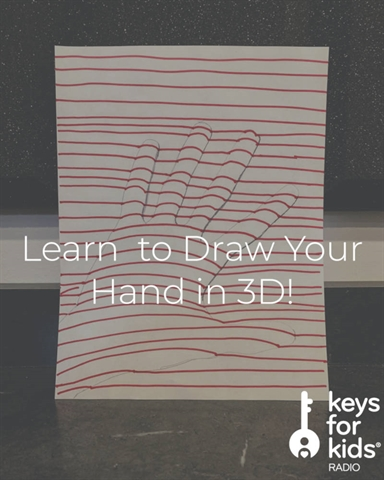 How to Draw YOUR Hand in 3D!