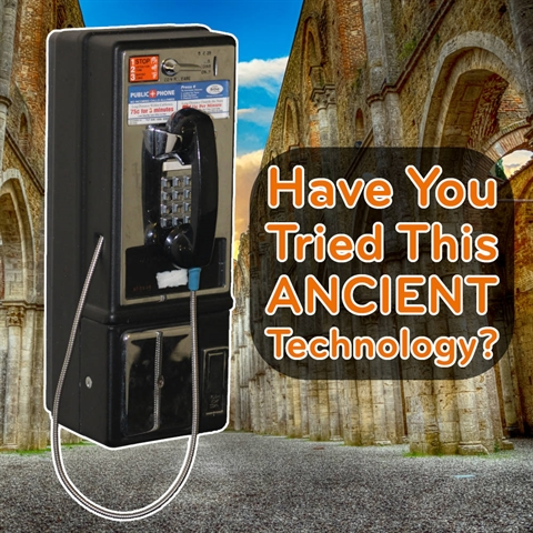 Have You Tried This Ancient Technology?