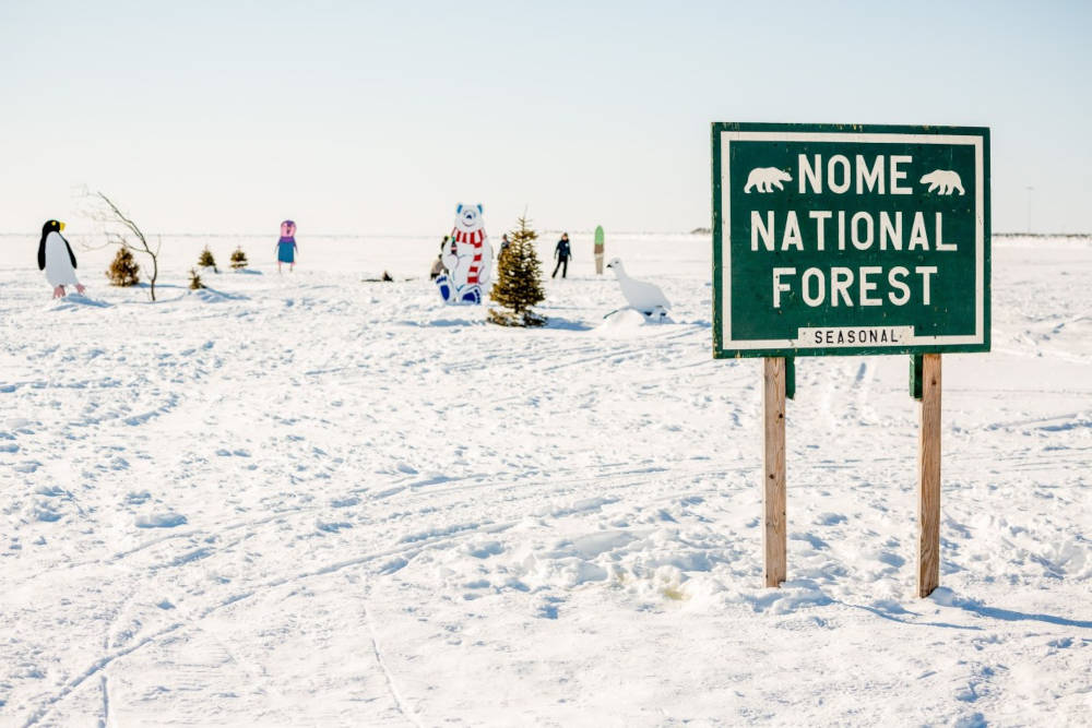 """Nome National Forest"", KNOM Radio, Nome, AK"