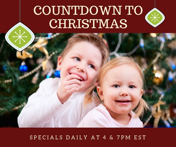 Two Christmas Specials Starting Today!