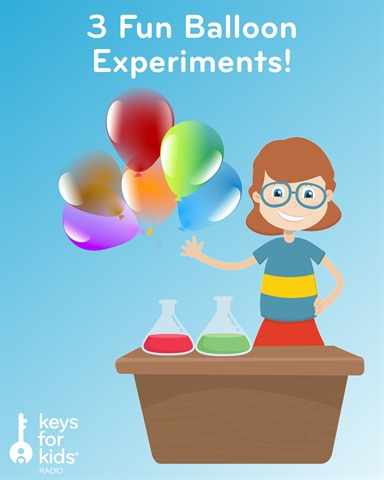 3 FUN and EASY Balloon EXPERIMENTS!
