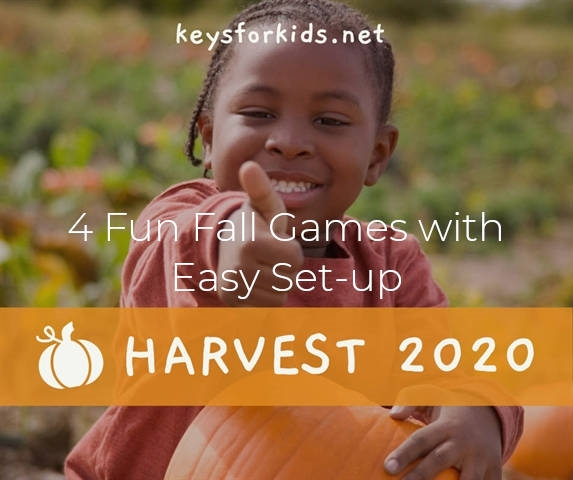 4 Fun Fall Games with Easy Set-up - Harvest Week!