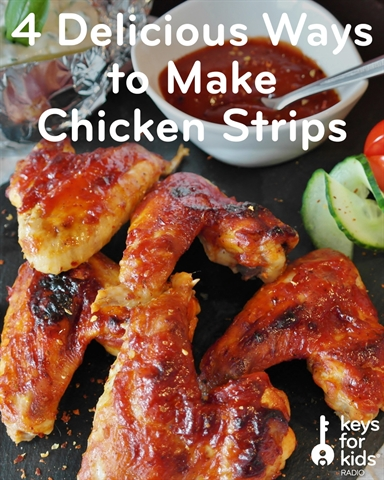 Make Chicken Strips with Mom and Dad