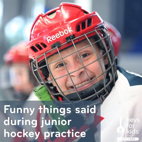 Silly 4-Year-Old Hockey Practice
