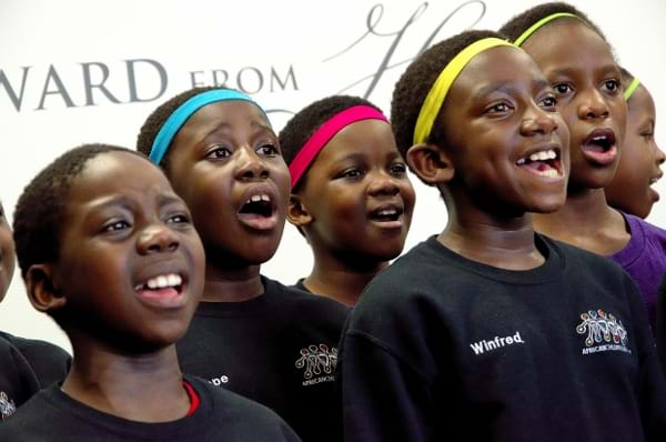 Amazing Grace - African Children's Choir