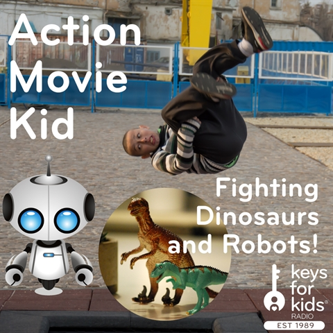 Action Movie Kid: Home Videos with Special Effects!