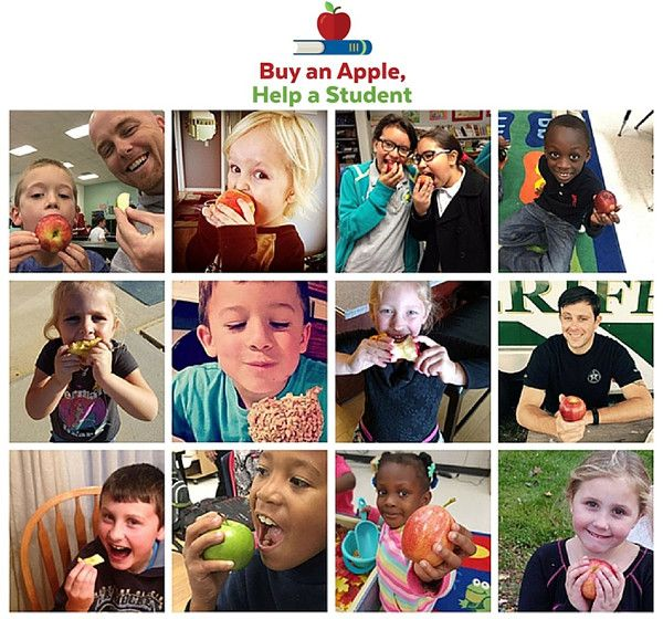 Love Snacking on Apples? You Could Help Your School