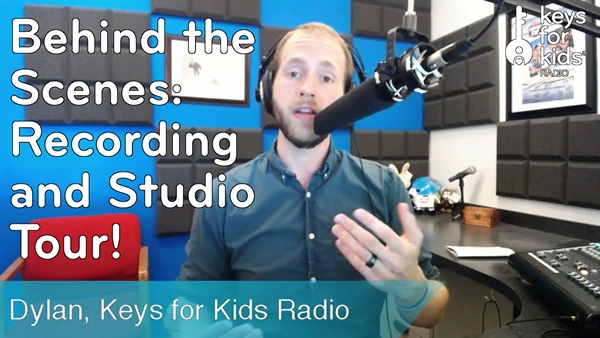 Behind the Scenes: Being a Host on Keys for Kids Radio