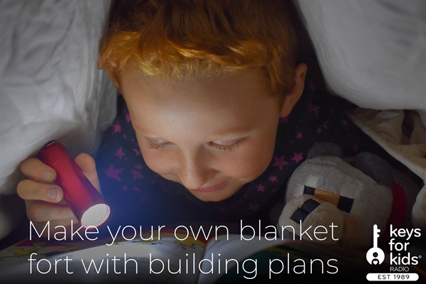 Build Your Own DIY IKEA Blanket Fort