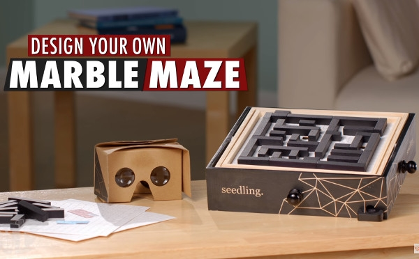 Build Your Own Virtual Reality Maze!