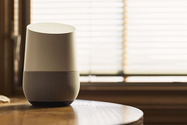 Google Home. Credit: NDB Photos via Flickr | nextdayblinds.com
