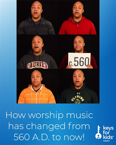 How WORSHIP Music has Changed in 1500 YEARS