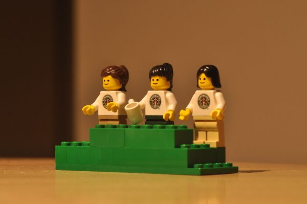 "Photo credit: ""starbucks lego city"" by keiichiro shikano on Flickr (CC BY 2.0)"