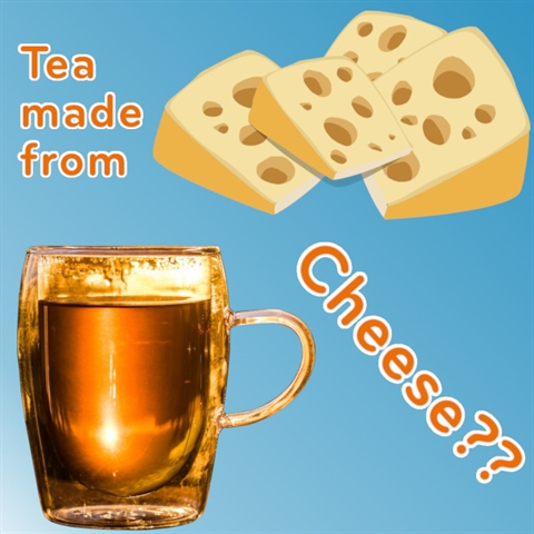Would You Drink CHEESE TEA?