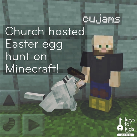 Easter Egg Hunt on Minecraft!
