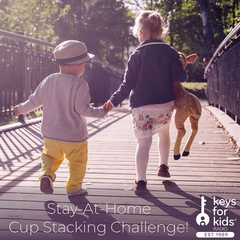 Stay-At-Home Challenge: Cup Stacking Game for Kids