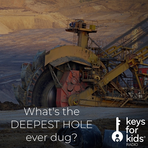 What's the DEEPEST HOLE ever dug?
