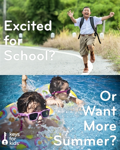 What Are You EXCITED for Going Back to School?!