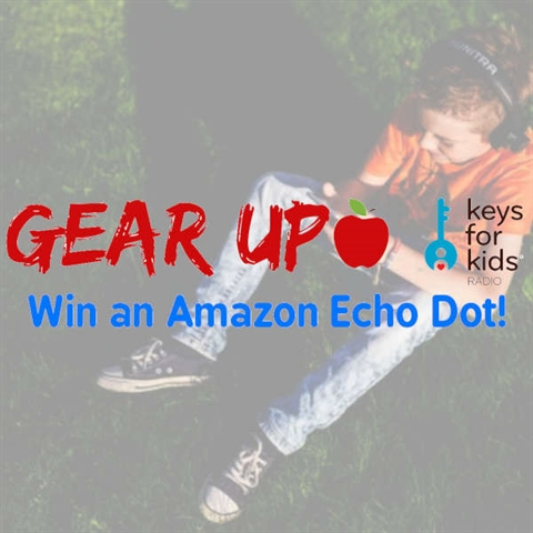 Gear Up: Win an Amazon Echo Dot!