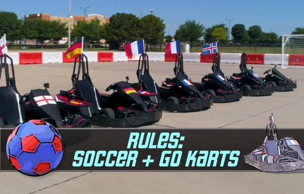 The World Cup with Go Karts