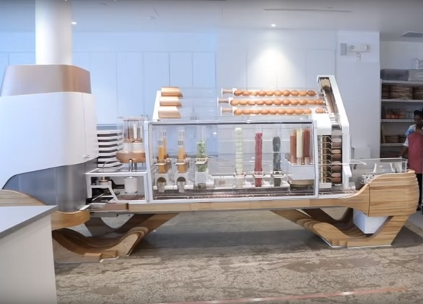 Hamburgers Made By a Robot!
