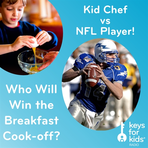 Cook-off SHOWDOWN: Kid Chef VS NFL Player!