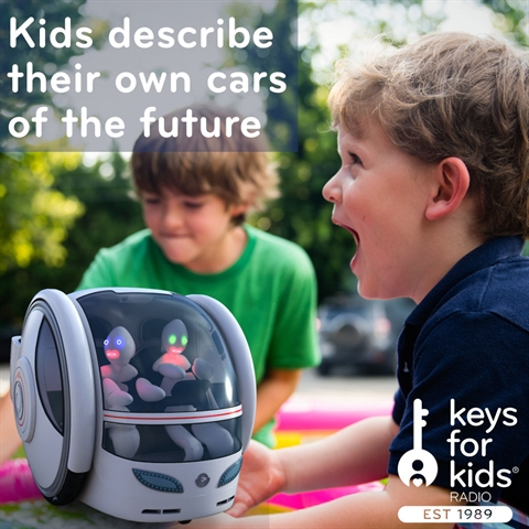 Kids Design Cars of the Future