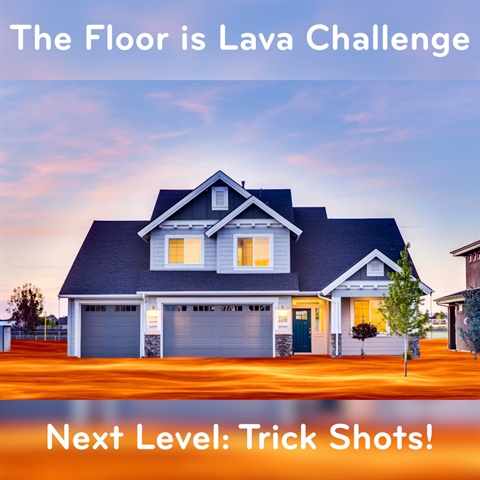 The Floor is Lava Challenge EXTRA HARD