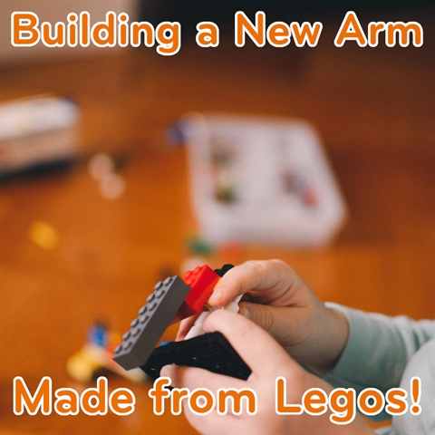 Building a New Arm from LEGOS