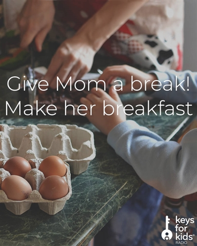 Make Your Mom Breakfast for Mother's Day!