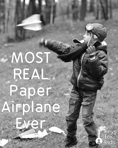 Real Life Paper Airplane?