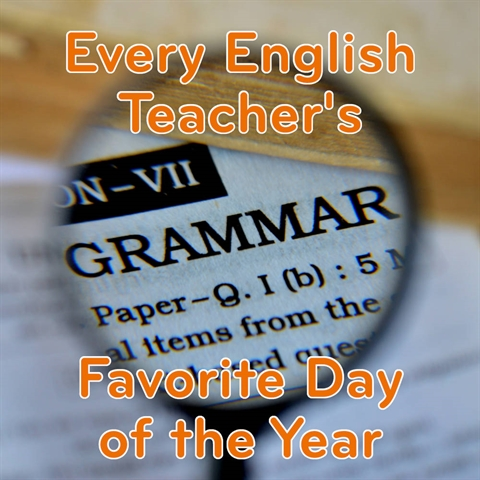 An English Teacher's FAVORITE Day of the Year