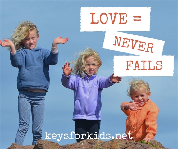 Love Never Fails - Love Does Giveaway!