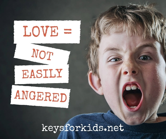 Love is Not Easily Angered - Love Does Giveaway!