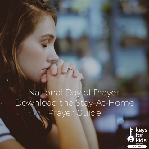 Stay-At-Home Prayer Guide: National Day of Prayer