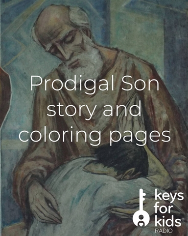 Prodigal Son COLORING Pages!