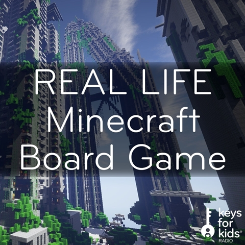 Minecraft: REAL-LIFE Board Game!