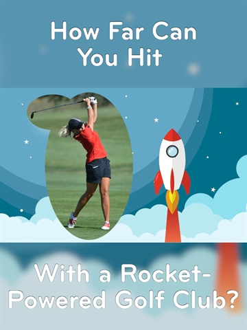 How-To: Rocket-Powered Golf Club!