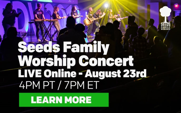 LIVE Seeds Family Worship Concert! Dallas, Texas