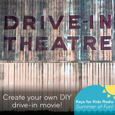 "Create Your Own ""Drive-In"" Movie Theater"