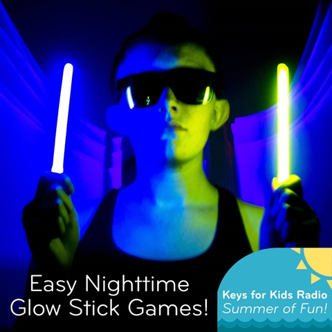 Glow In the Dark Games!