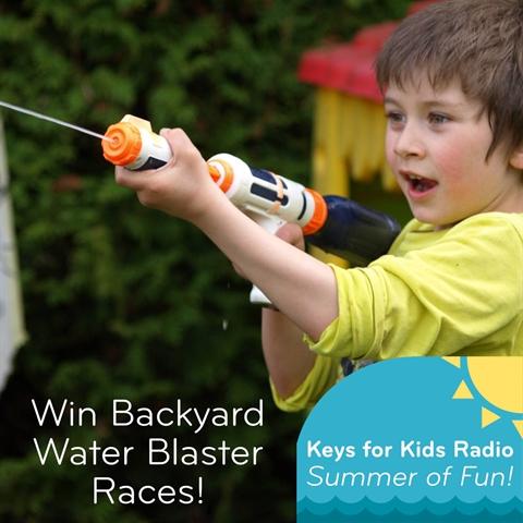Win Backyard Water Blaster Races!