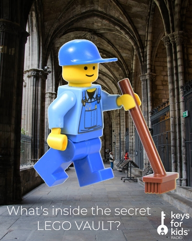 What's inside the SECRET LEGO VAULT??