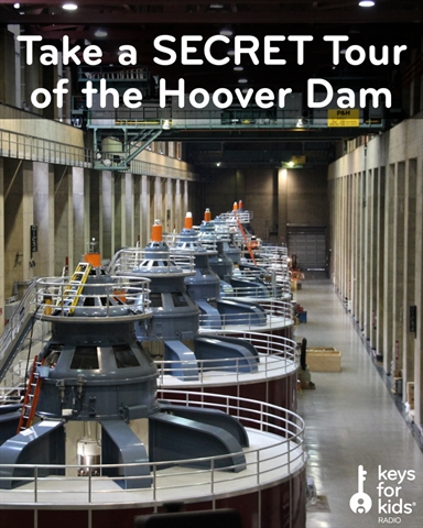 SECRET Tour of the Hoover Dam!