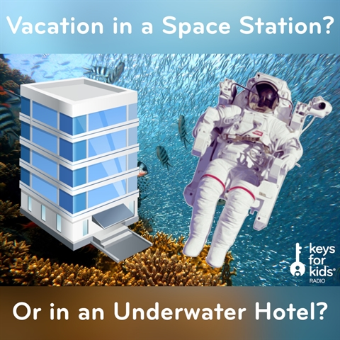 Space Station vs Underwater Hotel: Where Would You Go??