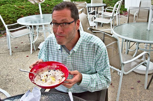 Steve Eats the Yummiest, Grossest Ice Cream Sundae